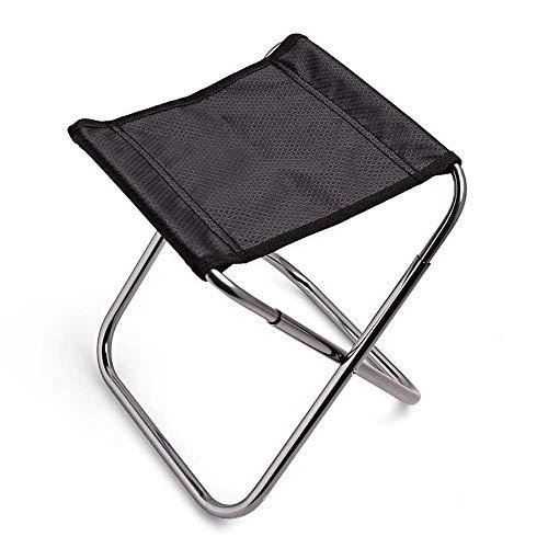 CAIJINJIN Silla de Campamento plegable de Pesca Pesca plazas plegable plegable taburete de aluminio de la aviación for sillas de picnic al aire libre el recorrido que acampa Ocio (Tamaño: 240 * 225 *