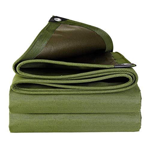 WTT Tarpaulin, extra zware bouwers Waterdichte afdekking voor vloerbedekking, waterdichte afdekking Premium kwaliteit afdekking voor outdoor camping (Maat: 5mX6m)
