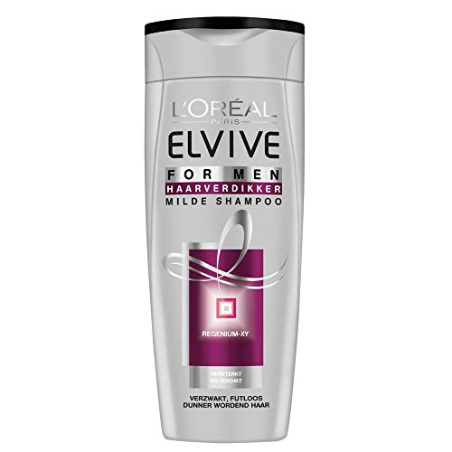 Loreal Elvive shampoo haarverdikker for men - 250ml