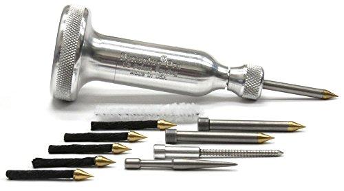 DYNAPLUG Kit de réparation de crevaison Pro Xtreme en aluminium pour motos et voitures