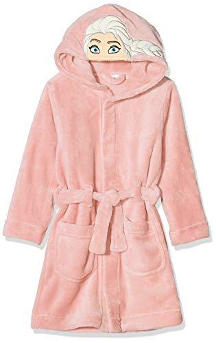 NAME IT Baby-Mädchen NMFFROZEN Batty Bathrobe WDI Bademantel, Rosa (Silver Pink Silver Pink), (Herstellergröße: 104)