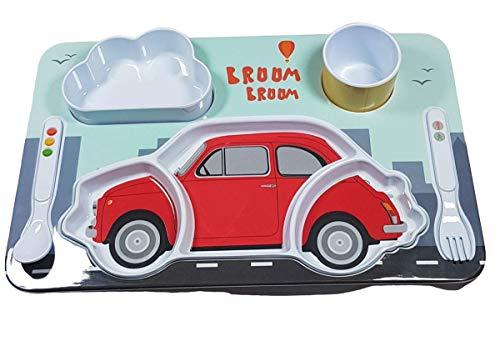 Set voor kinderwagen, Fiat 500, rood