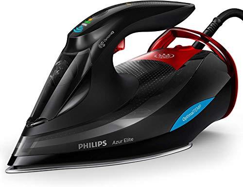 Philips GC5037/80Azur Elite Ferro da stiro a vapore (con modalità DynamiQ 260g e funzione decalcificante Quick Calc Release)
