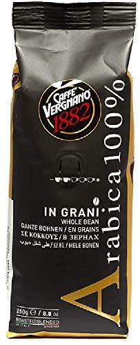 Caffè Vergnano 1882 Kaffeebohnen 100% Arabica - 1 Packung enthält 250 g