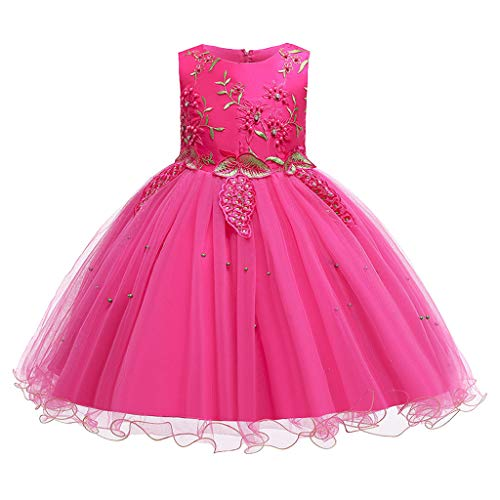 Allence Mädchen Röcke Damen baby tunika kurze hülsen-rock hot rosa einheitsgröße