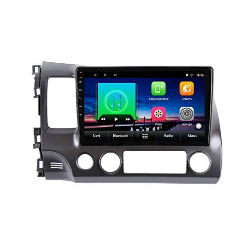 2G+32G Android 10 autoradio per Honda Civic 8 FK FN FD 2005-2012 Autoradio Multimediale Lettore Video Navigazione GPS