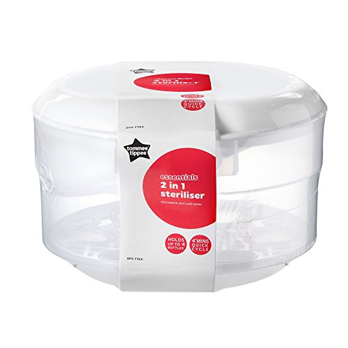 Tommee Tippee Essentials Microwave and Water Steriliser