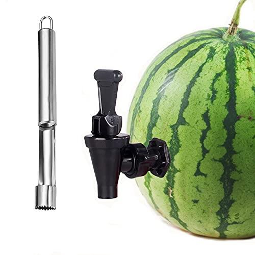 Juego de grifo de melón, grifo de bebidas, juego para