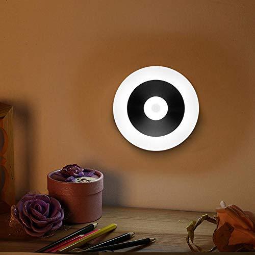 Nachtlicht USB Wiederaufladbare Led Bewegungssensor Nachtlicht Tragbare Wandleuchte Für Wc Wc Küche Schlafzimmer Schrank Wand Lesetischlampe USB Wiederaufladbar