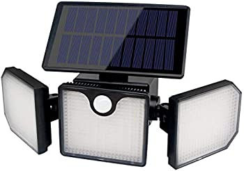 FULLBRIGHT 230 LED 800LM Wireless Solar Motion Sensor Outdoor Lights
