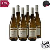 Vin de Savoie Apremont Blanc 2019 - Philippe et Sylvain Ravier - Vin AOC Blanc de Savoie - Bugey - Cépage Jacquère - Lot de 6x75cl