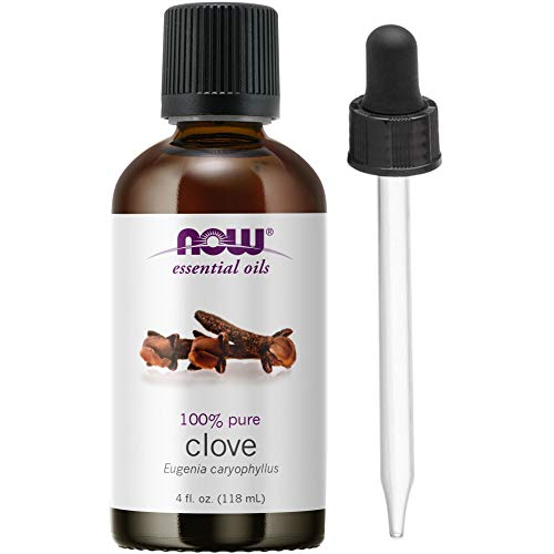 Now Foods Essential Oil, Clove, 4 Ounce  (1 Glass Dropper...