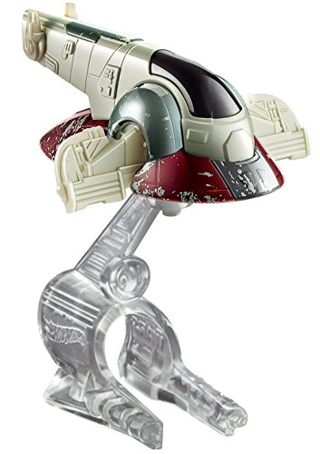 Hot Wheels - Nave Star Wars Slave 1 Boba Fett (Mattel CKJ63) , Modelos/colores Surtidos, 1 Unidad