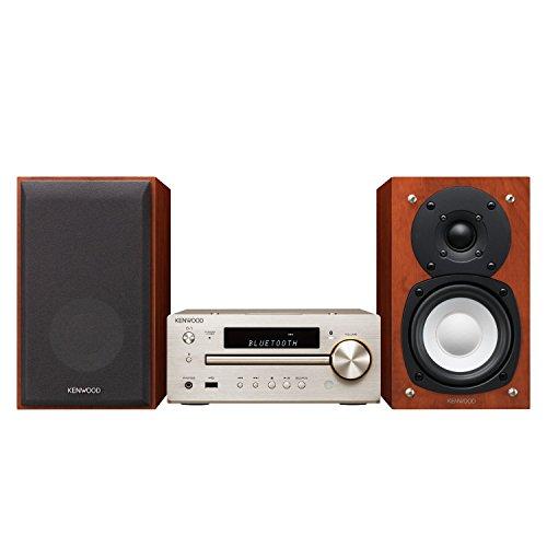ケンウッド コンパクトHi-Fiオーディオシステム Bluetooth/NFC/ハイレゾ/USB接続対応 Kシリーズ K-515-N ゴールド