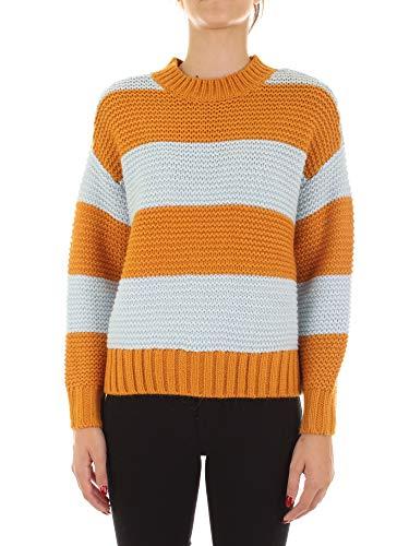 PIECES Damen Pullover PCINA orange S