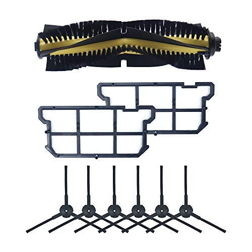 WuYan Cepillo principal cepillo lateral filtro HEPA antipolvo para ILIFE V7 V7S V7S PRO Robot aspirador de repuesto piezas de repuesto