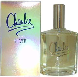 Charlie Silver by Revlon for WomenEau De Toilette Spray 3.4 Ounce