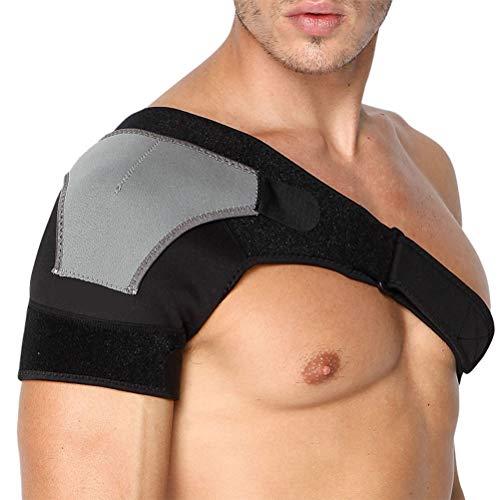 Macabolo Einstellbare Schulterunterstützung Kompression Särmel Strap Single Shoulder Strap Trainingsgerät für Linke rechte Schulter