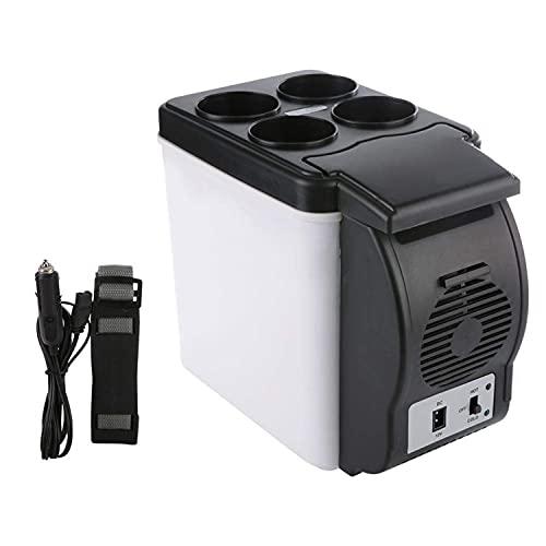 6l Mini Refrigerador Para Auto, Auto Refrigerador Frigorífico Eléctrico Enfriador De Caja Y Congelador Portátil Más Cálido Para...