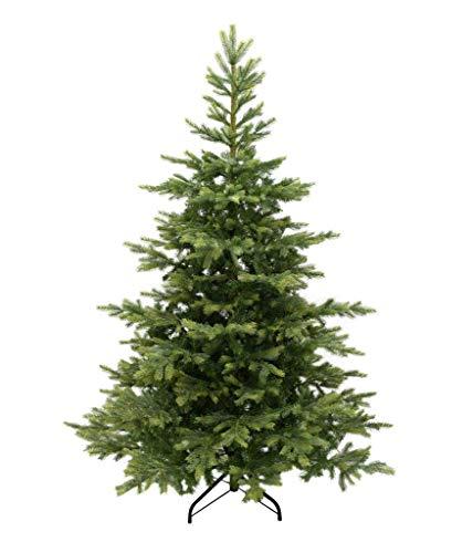 Grandis Fir Artificial Christmas Tree by Kaemingk 5ft, 6ft, 7ft, Pine Spruce Metal Fir Xmas Tips...