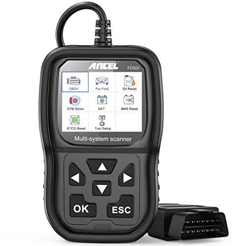 ANCEL FD500 All System OBD2 Diagnosegerät für Ford-Fahrzeuge Diagnose mit Öl EPB BMS TPMS TPS PCM TCM KAM Reset