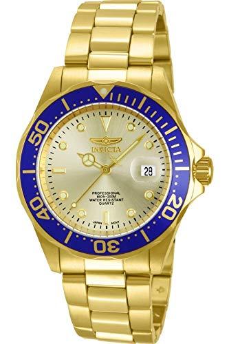 Invicta 14124 Pro Diver Reloj Unisex acero inoxidable Cuarzo Esfera or