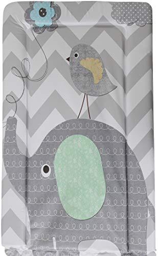 Babycurls - Cambiador de pañales (76 x 45 cm), diseño de elefante gris