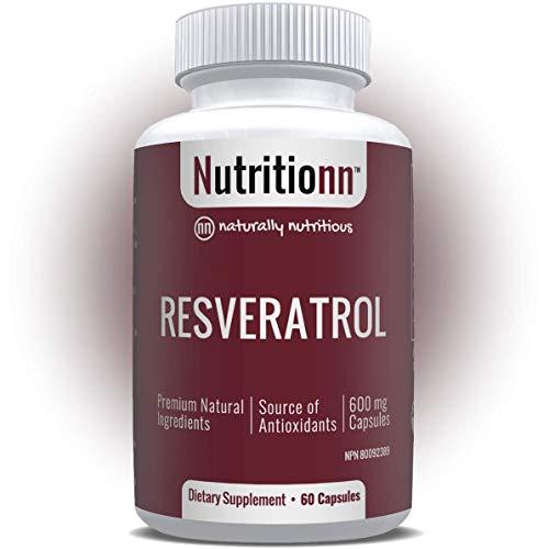 Resveratrol by Nutritionn - Natural Trans-Resveratrol Capsules - Premium Health Supplement