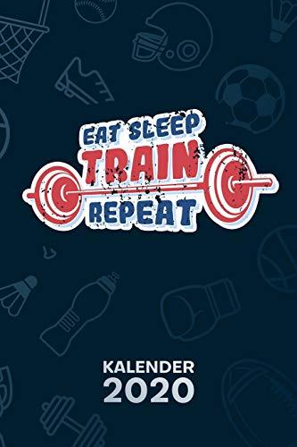 KALENDER 2020: A5 Bodybuilding Terminplaner für Hobbysportler mit DATUM - 52 Kalenderwochen für Termine & To-Do Listen - Fitnessgeschenk Terminkalender Trendsport Jahreskalender Fitness Zitate