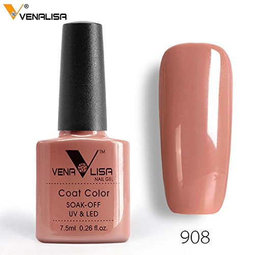 Esmalte gel uñas Venalisa Gel Soak Off UV LED Color
