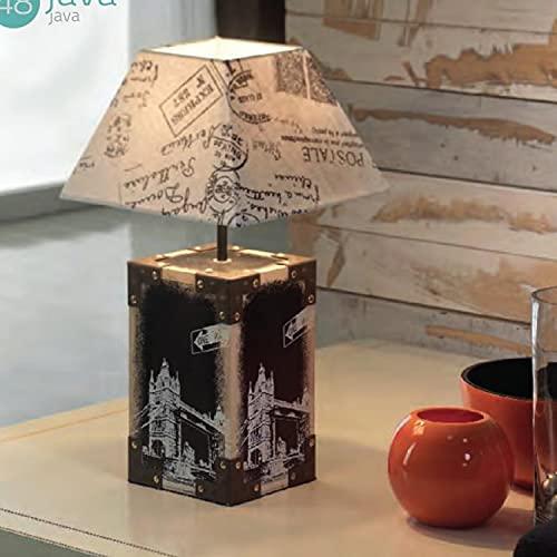 Schuller Base para lampara de Sobremesa Java, (Pantalla de Regalo en promocion)