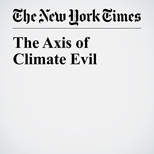 The Axis of Climate Evil copertina