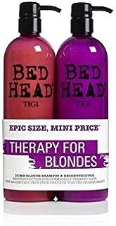 Tigi Bed Head Dumb Blonde Tween Duo (2X750ml) (Pack of 6)
