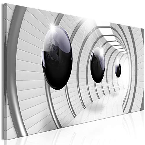 decomonkey Bilder Abstrakt 150x50 cm 1 Teilig Leinwandbilder Bild auf Leinwand Vlies Wandbild Kunstdruck Wanddeko Wand Wohnzimmer Wanddekoration Deko 3D Kugeln