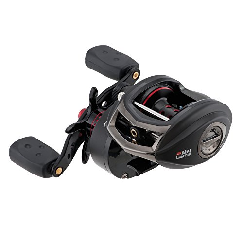 Abu Garcia Revo SX Low-Profile Baitcast Fishing Reel, Standard Speed, Right Hand