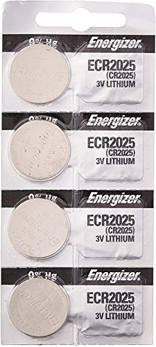 [ Pack of 4 ] Energizer Cr2025 3v Lithium Coin Cell Battery Dl2025...