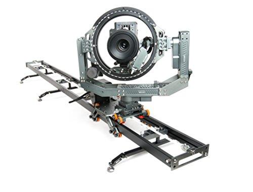 ASXMOV-G4S1 Aluminum Multi-Axis Motion Control Dolly Track Focus Timelapse Motorized Video DSLR Camera Slider W/Controller