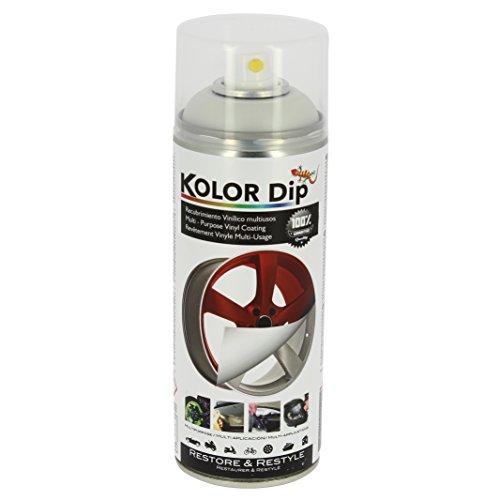 Kolor Dip Spain KD13001 Pintura en Spray con Vinilo Líquido Extraible, Blanco Perla