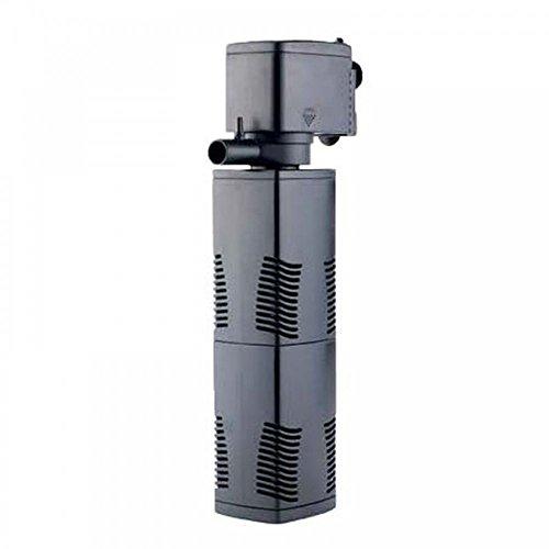 AquaOne JP-23F Aquarium Innenfilter 1000 L/h Filter Filtersystem Aquarien Eckfilter Pumpe Schwammfilter Leise