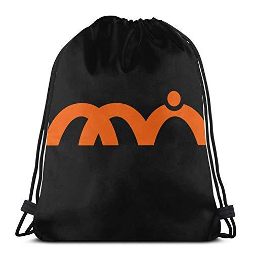 Musashi Animation Studio (Musani) Logo - Shirobako Kordelzug Rucksack Gym Sack Pack Solid Cinch Pack Sinch Sack Sport String Bag