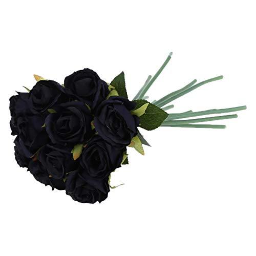 MNZDSQ Alfombra tradicional de estilo oriental muy grande, con diseño tradicional floral, color rojo, azul marino y marrón, lavable a máquina, 020