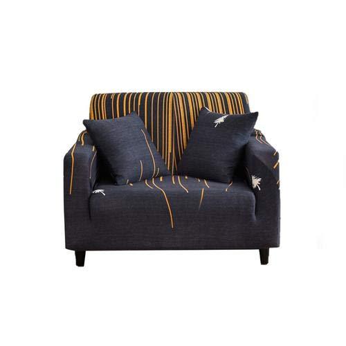arthomer Funda elástica para sofá de 1 2 3 plazas, Cubierta Antideslizante en Tejido elástico Extensible, Protector de sofá