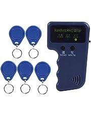 Draagbaar/Handheld Schrijver Copier Duplicator Programma's voor RFID ID-kaart met 5 schrijftags 125kHz