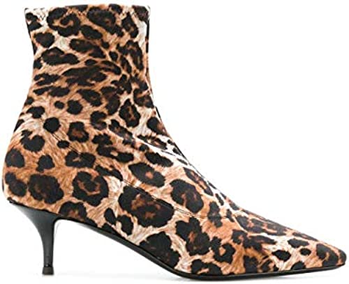 Giuseppe Zanotti Design Damen I870026001 Braun Leder Stiefeletten
