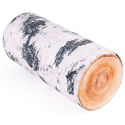 Fancy Cuscino in legno, 40 cm, tronco d'albero
