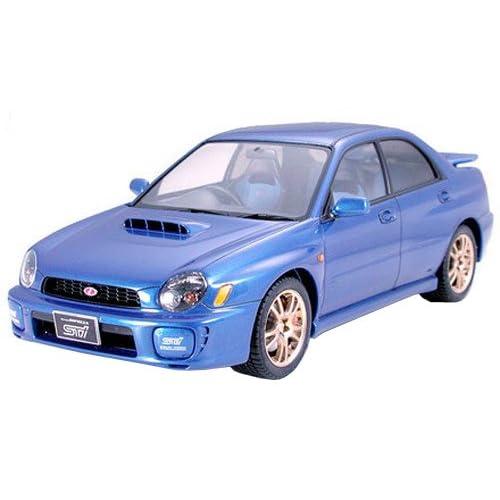 Amazon.com: Tamiya Subaru Impreza WRX STi - 1/24 Scale Model Kit 24231: Toys & Games