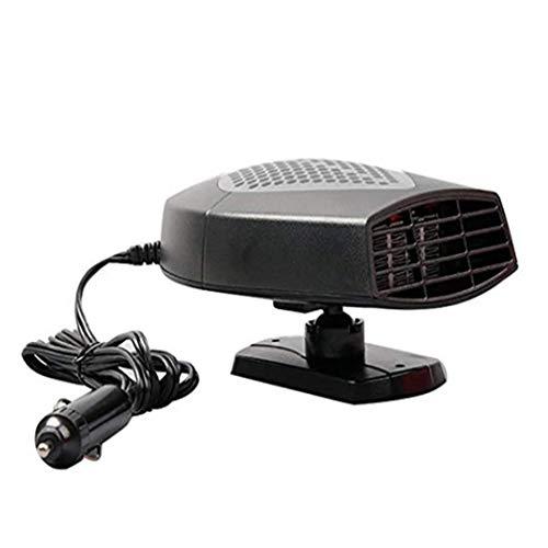 YAOBAO Voiture de Chauffage, Portable 60 Secondes de Chauffage Rapide déGivreur demister véhicule de Refroidissement de Chaleur Ventilateur 12V 150W Chauffage Automatique de l'écran demister,Gray,12V