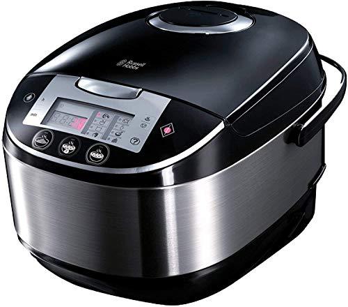 Robot de cocina con función de máquina de pan (900 vatios, 11 programas, acero inoxidable, 5 litros, digital, negro) -referencia. 21850-56