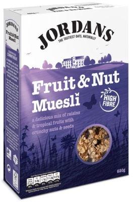 Jordans – Muesli – Fruit & Noot – 600g