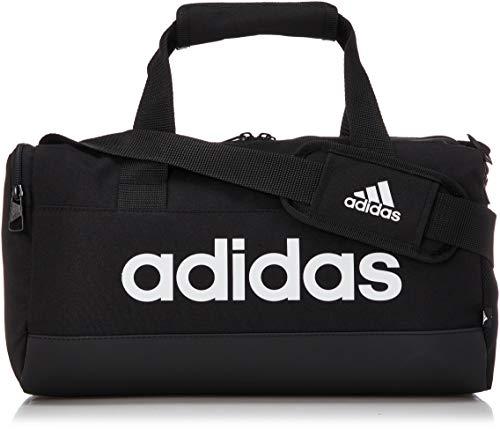adidas Linear DUF XS Bolsa de Deporte, Adultos Unisex, Negro/Blanco (Multicolor), Talla Única